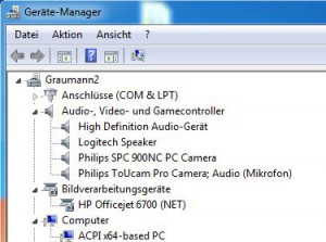 Gerätemanager Windows 7