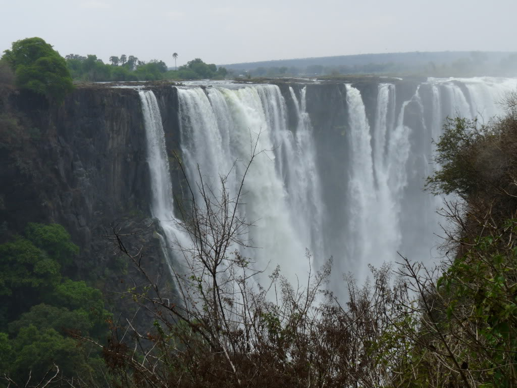 Victoria Falls On our travel by train through Zimbabwe
