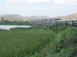Kafue River Railway Bridge