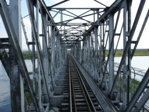 Kafue Railway Bridge On our way from Vic Falls to Lusaka we passed the old railway bridge over the Kufue River...